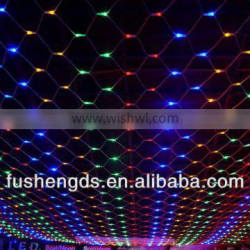 automatic color changing christmas led net light