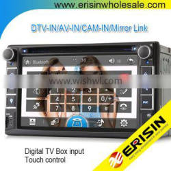 "Erisin ES6536G 6.2"" 2 Din Universal Car DVD GPS with RDS Radio"