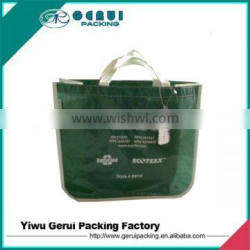 round corner green rpet bag,eco rpet bag/recycled rpet bag