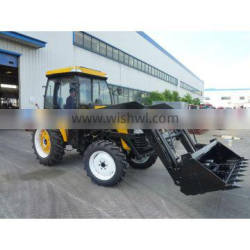 jinma 454 45HP tractor with 4 in 1 Front end loader And A/C Cabin