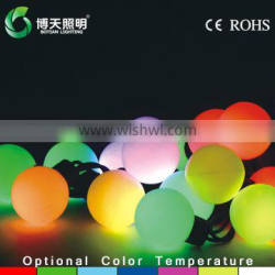 LED light price list,waterproof ball lamp string,indoor or outdoor lights lamp string