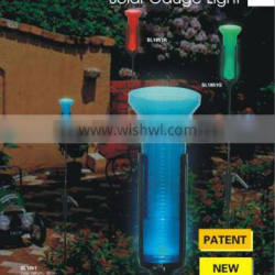 Solar light for gauge