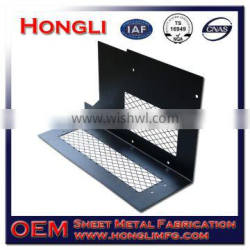 Sheet metal fabrication parts with laser cutting