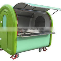 Mobile food cart for sale/electric mobile food cart for europe sale/mobile food cart with CE certification