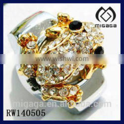 girls ring watch cool frog crystal finger ring watch crystal finger watch