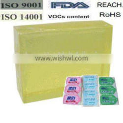 Quick Easy Tape Hot Melt Glue Adhesive for Sanitary Napkin