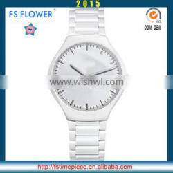 FS FLOWER - Best Selling Products Ceramic Watch Ceramic Material Watch No Scratched