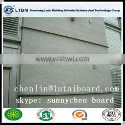 Board sheet by calcium silicate board