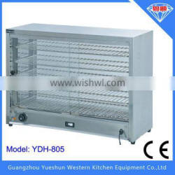 High quality electric commercial food warming showcase