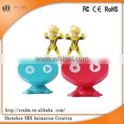 oem plastic mini toy ,decorating plastic toy for adults ,high quality plastic toy