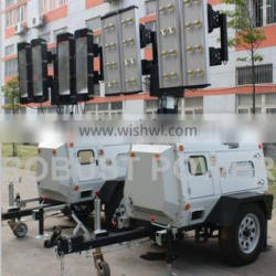 Kubota generator 7KW LED movable tower light
