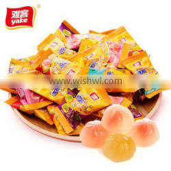 Yake yummy fruit gummy candy with 9 vitamins