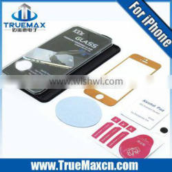 2014 High Quality With retail Packing Tempered Glass Screen Protector for iPhone 5