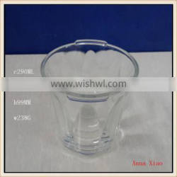 290ml glass lampshades