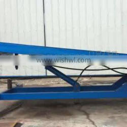 7LGQ Shandong SevenLift high stationary container loading dock ramp leveler