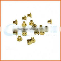 alibaba high quality copper semi hollow rivets