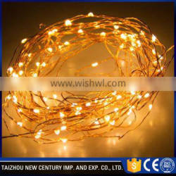 240v flexible copper line led copper string light