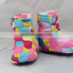 High quality ski soft sole baby boots