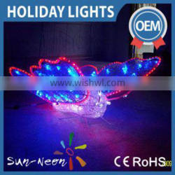 China supplier 2016 new product decorative holiday butterfly led motif light