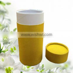 small round cosmetic cylinder box paper tube