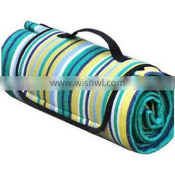 2014 Xinbo 100%polyester waterproof Down Alternative picnic Blanket