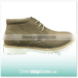 China Wholesale Suede Leather Shoe Men
