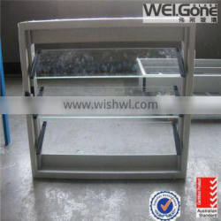 Factory made glass slat windows