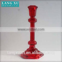 more sizes cheap tall red long stem glass candle holder