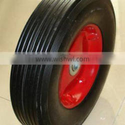 small solid pneumatic pu foam rubber wheels of for carts