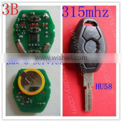 Tongda Top quality and economic car key remote control for BW remote key with 315mhz/433mhz.
