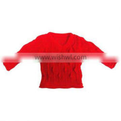 V-collar knitting sweaters for toys