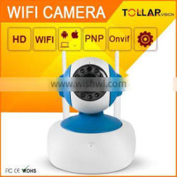 Tollar HD 720P wireless baby monitor indoor cctv ip cam wifi
