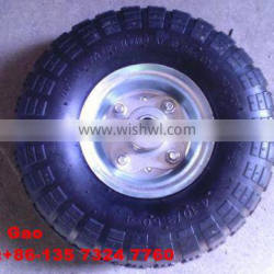 high quality 4.10/3.50-4 rubber wheel for trolley