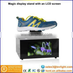 HCNT Magic Levitating Pop Up Display Cabinet With Flexible Lcd Display