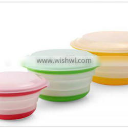 Food Grade for Silicone Collapsible storage container/Fresh Box
