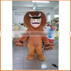 popular CE animal lion mascot costume for adults