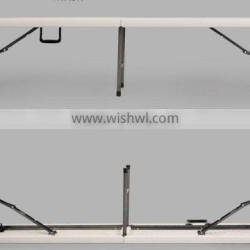 6ft plastic folding bench for 4 person used