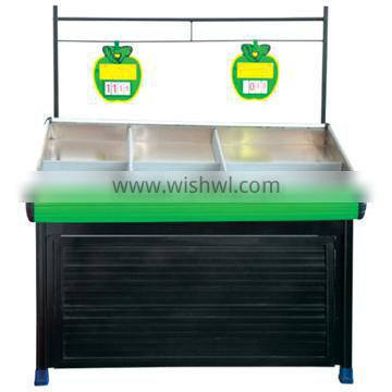 Factory direct sales supermarket fruit stand rack with good quality