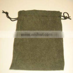 (directly factory)cotton linen drawstring bag