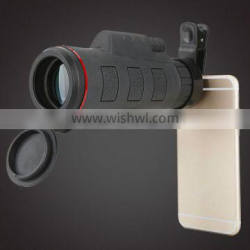 Portable Mobile Phone Monocular 10x40 Small Telescope 1200m/9600m chinese telescope