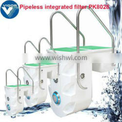 Factory wall-hung pipeless swim pool filter / pool filters box / compact pool filter