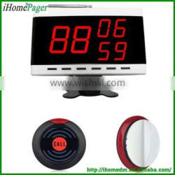 High quality Ihomepager wireless waiter call bell system for restaurant