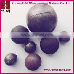 high hardness &150mm chrome steel Ball for sale