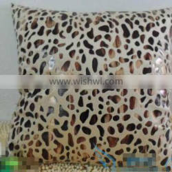 animal theme faux suede cushions