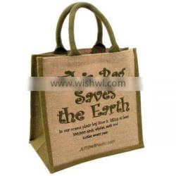 Eco cheap jute shopping bag wholesale