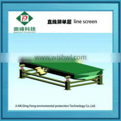 DingFeng brand automatic waste tyre vibrating screen