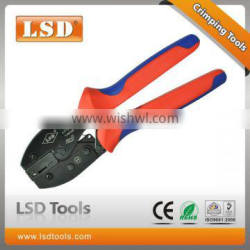 LY-06FL manual crimping tool for lug connectors and insulated plug 6.3mm2 ,wire crimp plier