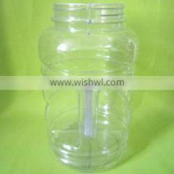 PVC Plastic Candy Jar with Handle