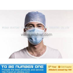 3ply face mask tie on ,non woven colourful face mask ,disposable medical face mask
