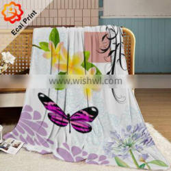 2016 hotel custom made sublimation blanket on the bed Quality Choice